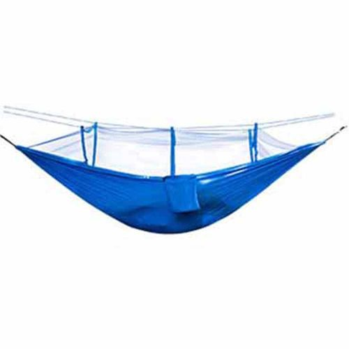 Ultralight Hammock Mosquito Net Breathable Anti-Mosquito Mesh Tent Royal Blue