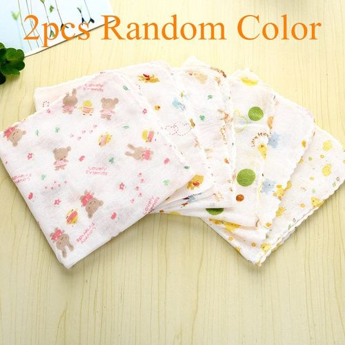 1/5 Pcs Cotton Newborn Infants Towels Soft Square Towel