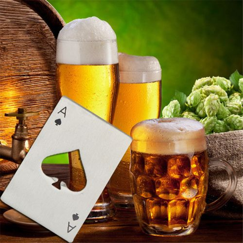 Bottle Opener Credit Card Size Casino For Your Wallet