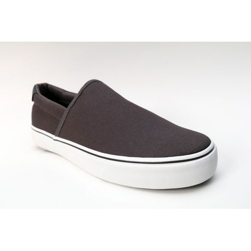 Vogue Slip On Sneaker - Grey With White Sole