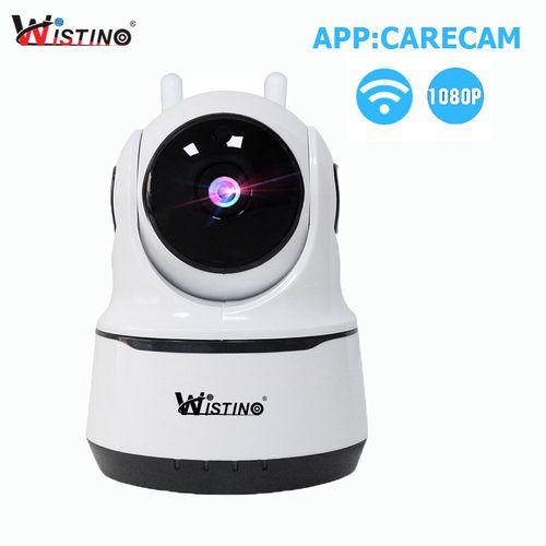 Wistino IP Camera WiFi 1080P Surveillance Camera Home Security System Cameras Video WiFi Baby Monitor IR Night Vision IOS Android TF