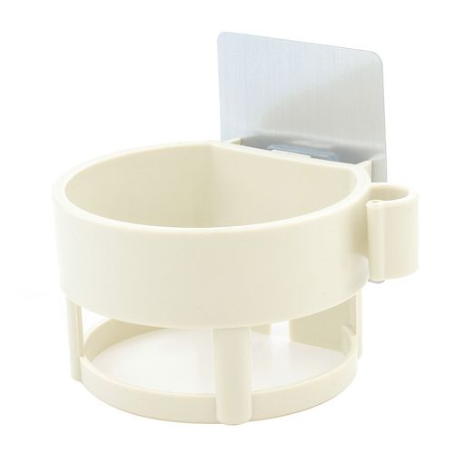 No Trace Pasted Hair Dryer Rack In Bathroom-Yellow