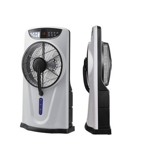 Rechargeable Air Cooler Box Mist Fan + Remote + FREE USB Cable