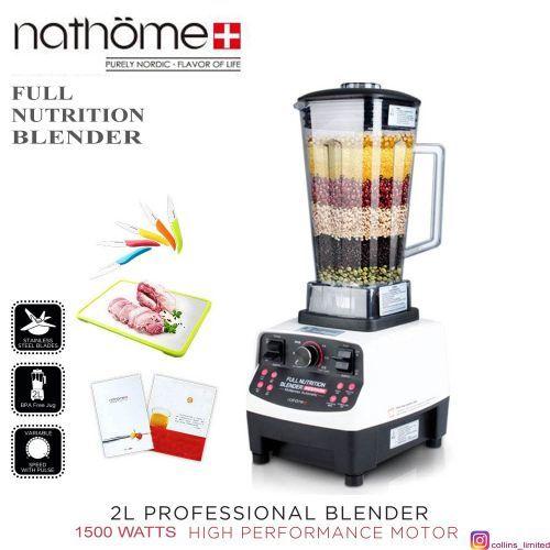 1500 Watts Full Nutrition Commercial Blender
