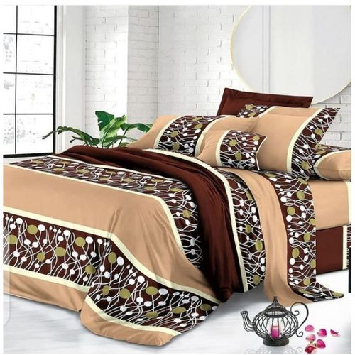 Duvet,Bedsheet With 4 Pillow Cases