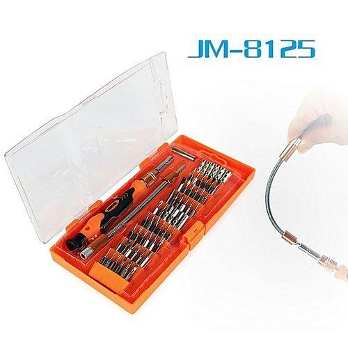 Jakemy JM-8125 58 In 1 Screwdriver Set For Telecommunication / Electrician - Orange