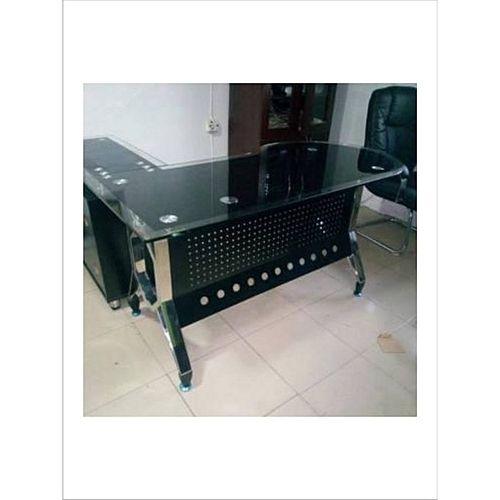 Glass Executive Table - 1.6m