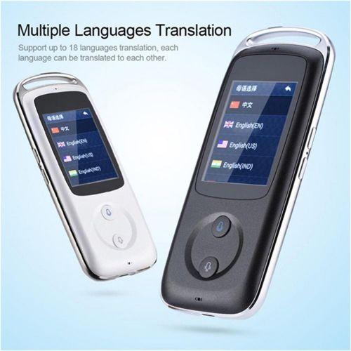 2.4 Inch Touch Screen Wifi Smart Translator Multiple Languages Translation Portable Handheld Translator DJLAB
