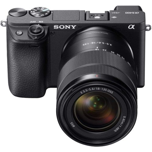 Sony Alpha A6400 4K Camera With 18-135mm Lens