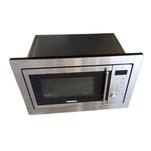 25 Litres Phiima Microwave Oven Silver(WITH HANDLE)