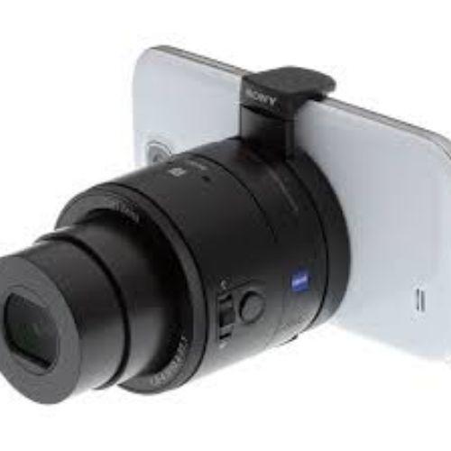DSC-QX100 Smartphone Attachable Lens-style Camera