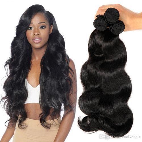 """Lush Natural Bodywave Hair Bundles-16""""-20"""""""