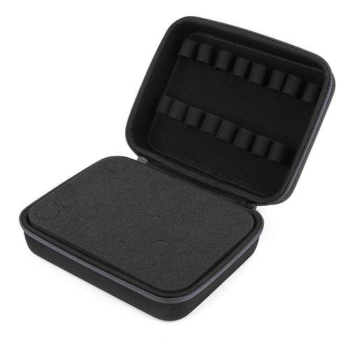 30 Bottle Aroma Essential O Il Storage Case Travel Portable Carrying Bag AU Stock - Black Zipper
