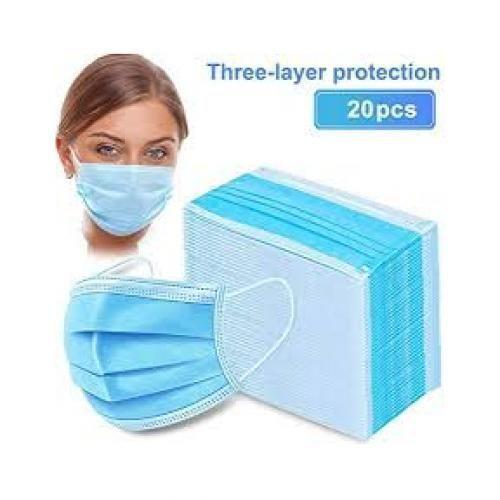 20pcs Pieces Face Mask Surgical Disposable