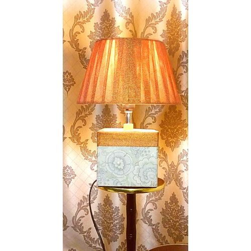 Table Lamp Bedside Lamp - Orange Cap Decorative Lamp