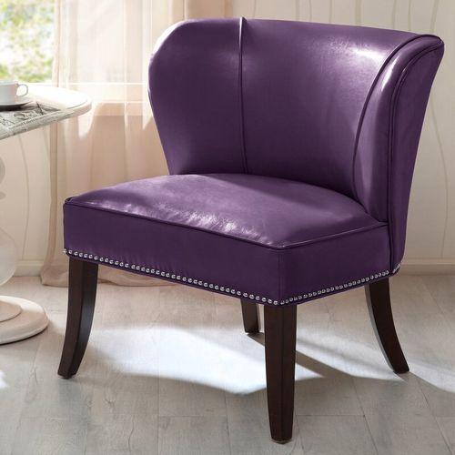 Demsa Slipper Chair - Purple