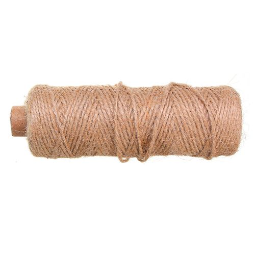 100M Cotton String Rope Twisted Braided Cord Craft Macrame 2mm