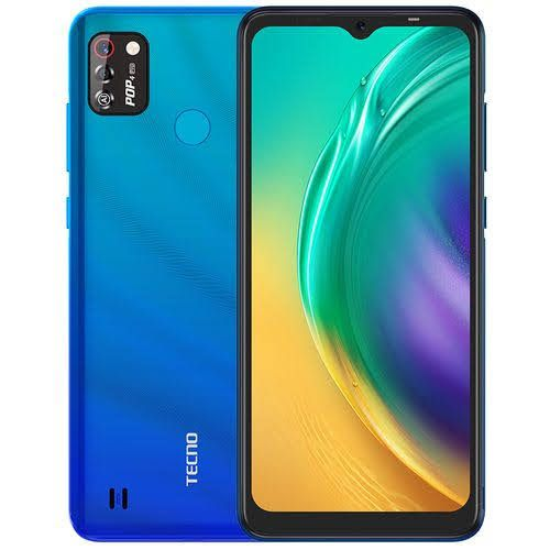 "Pop4 Pro(BC3), Android 10, 4G , 6.52""Dot-Notch Screen, 8MP Front With Flash 8MP Dual Rear Camera, 5000mAh Vacation Blue"