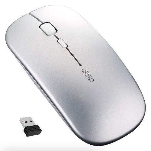 Rechargeable Wireless Mouse Noiseless Optical Gaming Mouse