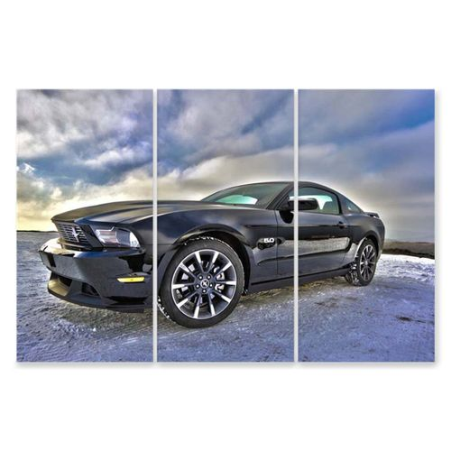 Vehicle Poster 120X80cm Mustang Car Wall Picture