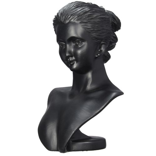 Mannequin Bust Jewelry Necklace Pendant Earring Display Stand Holder Head Rack