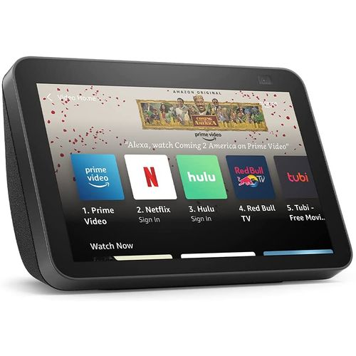 All-new Echo Show 8 (2nd Gen, 2021 Release) - HD Smart Display - Alexa And 13 MP Camera - Charcoal