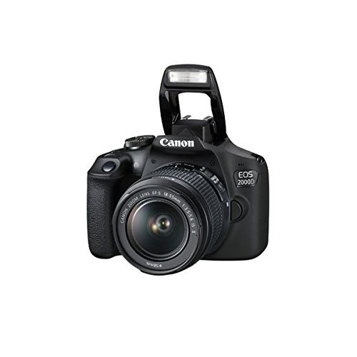 EOS 2000D DSLR With 18-55mm II Lens + 32GB + Bag Free