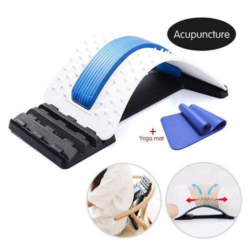 Back Massage Stretcher Lumbar Back Pain Relief Device