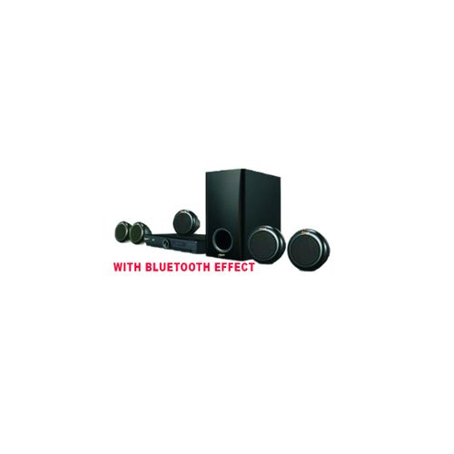 Powerful Home Theater System + Bluetooth Effect