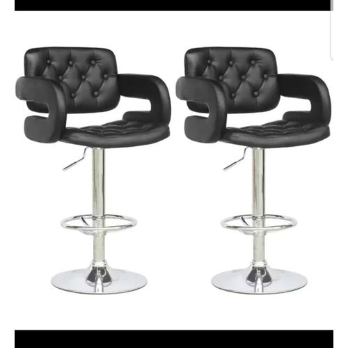 New Swivel Bar Stools With Armrests- 2pcs