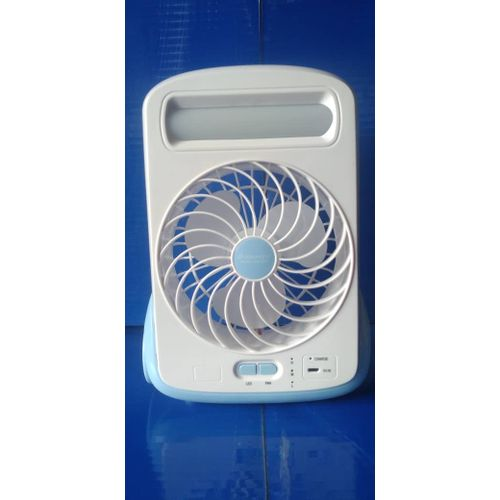 SMALL MINI TABLE RECHARGEABLE FAN
