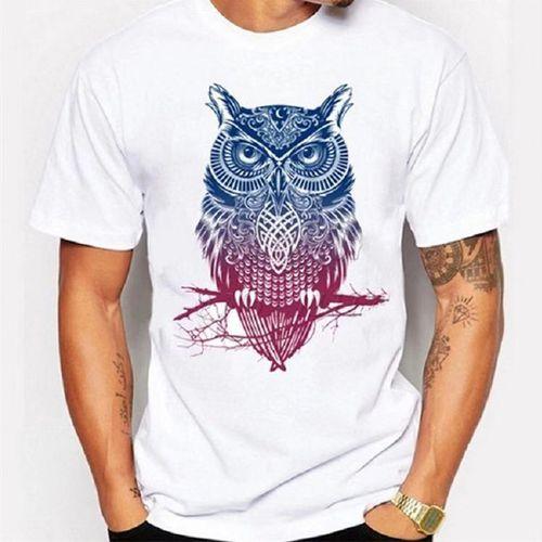 Men's White Awesome T-shirt - White