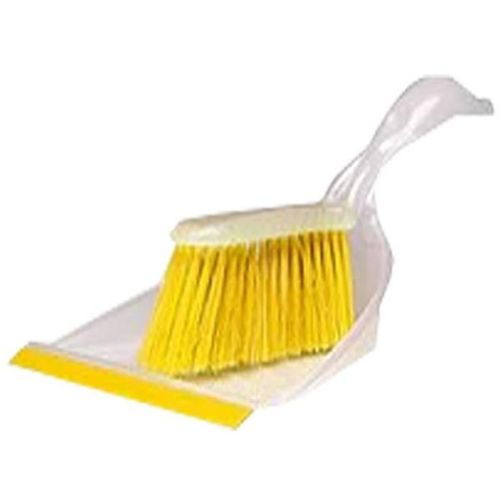 BLASKA Dust Pan And Brush - Yellow