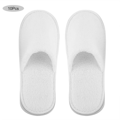 Cleaning Cloths 10 Pairs Disposable Guest Slippers Travel Hotel Slippers Comfortable SPA Shoes Eyeglasses Chamois Glasses
