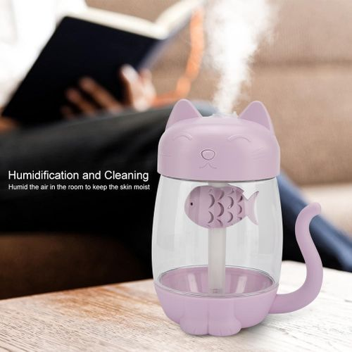 3 In 1 Quiet USB Office/Household Mini Humidifier Car Humidifier/Atomizer Cartoon Pattern Durable And Rust-Resistant