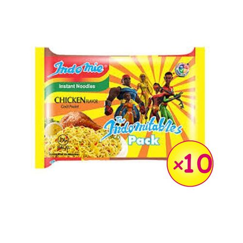 Chicken Flavour Instant Noodles 70g - (x10 Packs)