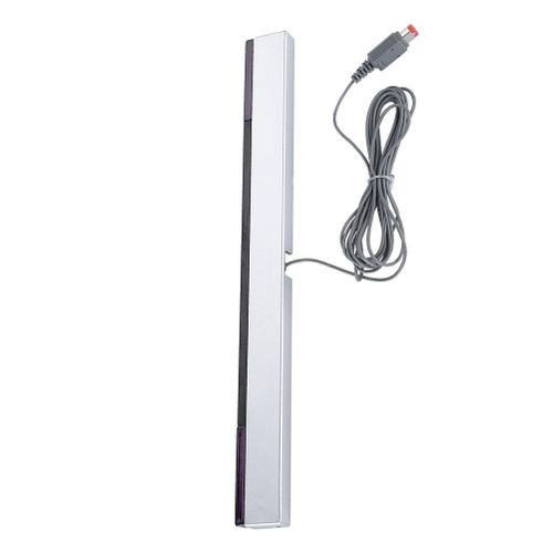 Infrared IR Signal Ray Sensor Bar/Wired Receiver & Standcfor For Nintendo WII Console