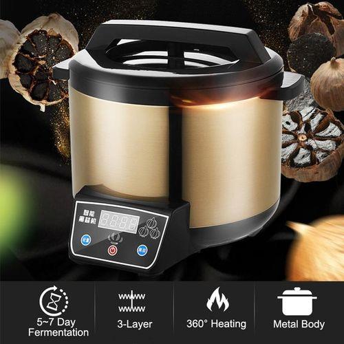 6L Automatic Garlic Fermenter Ferment Box Black Garlic Maker 360° Heating 90W