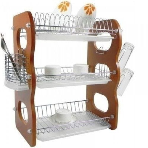 Plate Rack Drainer - 3 Layers