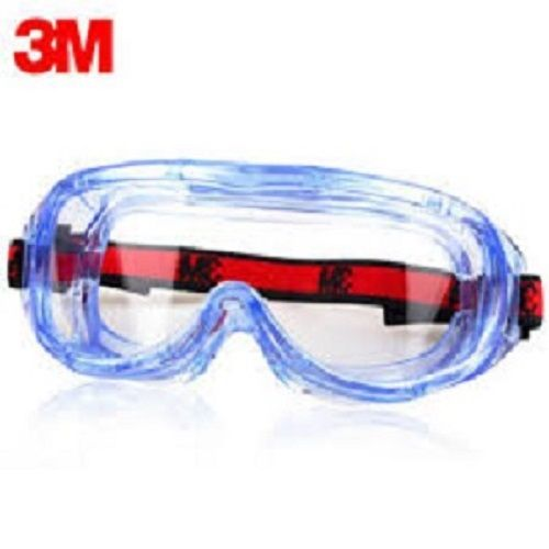 3M Anti-impact And Anti-chemical Splash Safety Goggles Economic Clear Anti-fog Lens Eye