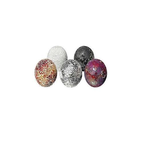 4-inch Decorative Mosaic Ball (Set Of 5)