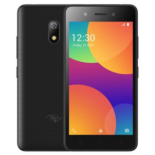 "A16 Plus 5.0"" Screen Android 8.1 Go Edition, 1GB RAM + 8GB ROM, 5MP+2MP, 2050mAh Dual SIM 3G - Black With Free Case"