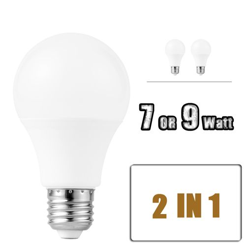 【2 In 1】Rechargeable Intelligent Emergency LED Bulb
