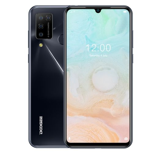 N20 Pro, 6GB+128GB 4400mAh Battery, 6.3 Inch Waterdrop Notch Screen Android 10.0 Smartphone - Space Grey