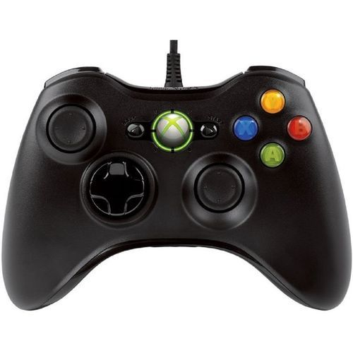Xbox 360 Pad For PC & Official Xbox 360 Console - Black