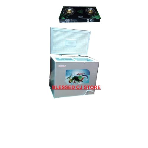 VINIKIZ Chest Freezer Model 350+FREE GIFT