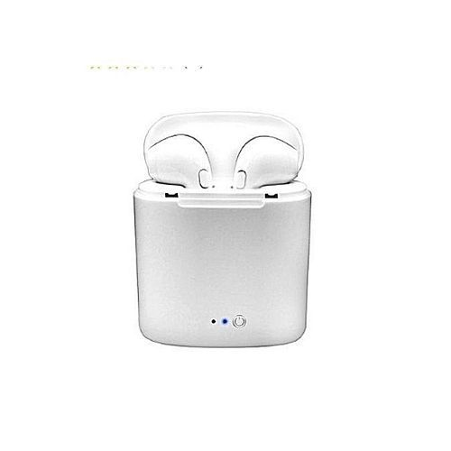 Twin Bluetooth Earphone With Mic For IOS And Android Devices