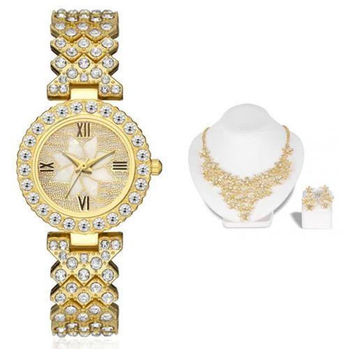 Blue Eye Charm Bead Protection Bracelet With 5 Hand Of Hamsa