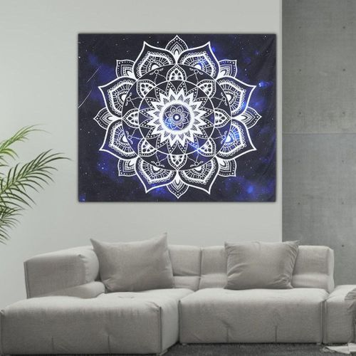 Tapestry Indian Style Polyester Wall Tapestry Couch Throw Blanket Yoga Carpet
