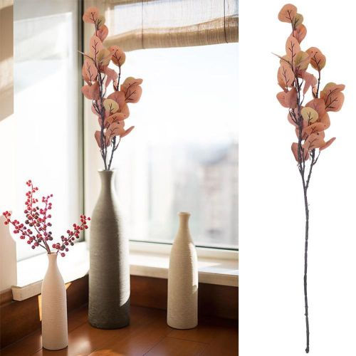 70cm Artificial Eucalyptus Leaves Twig Branches Plant For Room Decoration/Wedding